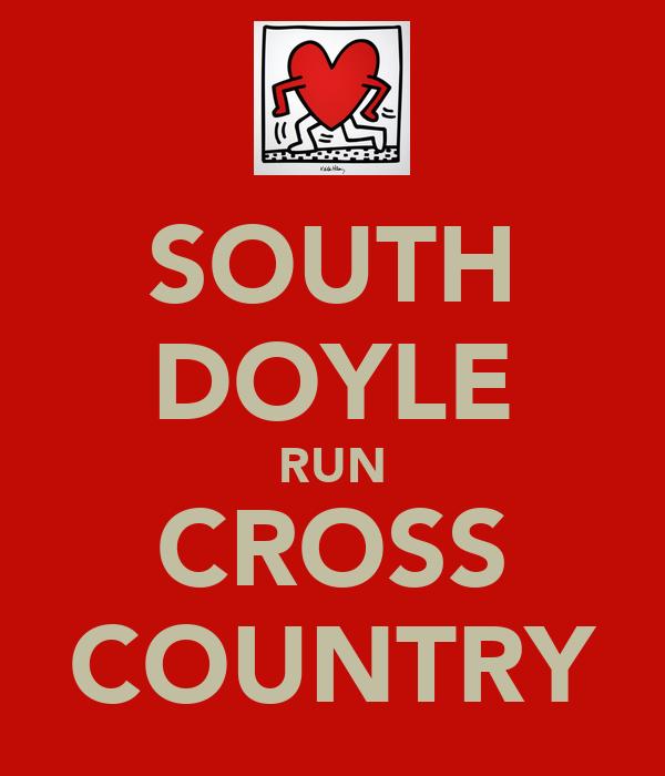 SOUTH DOYLE RUN CROSS COUNTRY