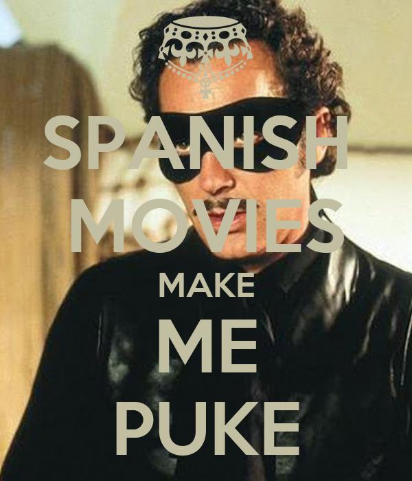 puke in spanish