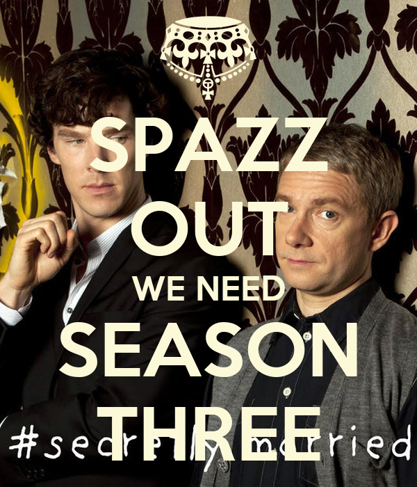SPAZZ OUT WE NEED SEASON THREE