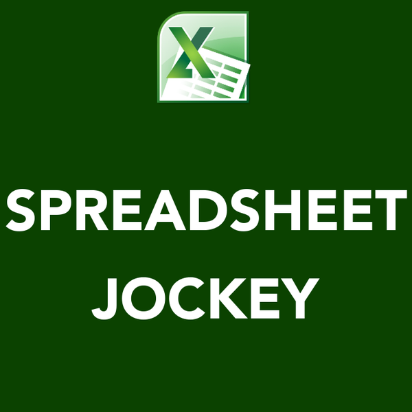 SPREADSHEET  JOCKEY
