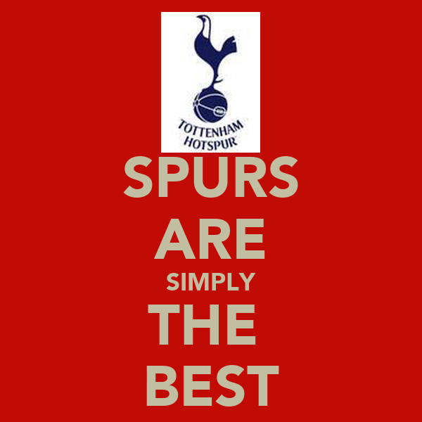 SPURS ARE SIMPLY THE  BEST