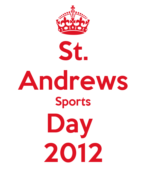 St. Andrews Sports Day  2012