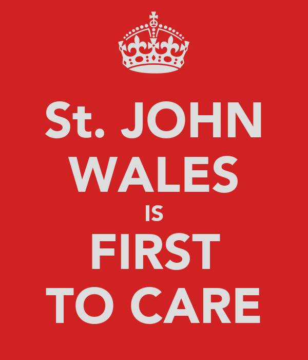 St. JOHN WALES IS FIRST TO CARE