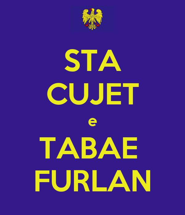 STA CUJET e TABAE  FURLAN