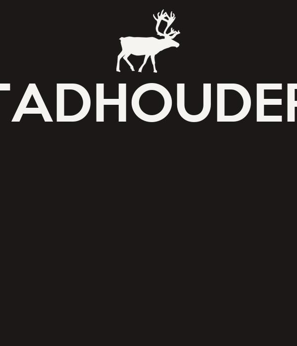 STADHOUDERS