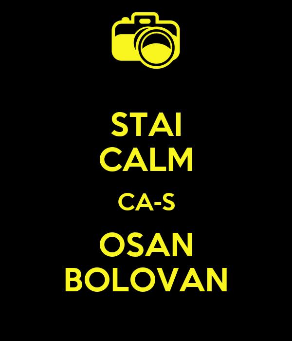 STAI CALM CA-S OSAN BOLOVAN