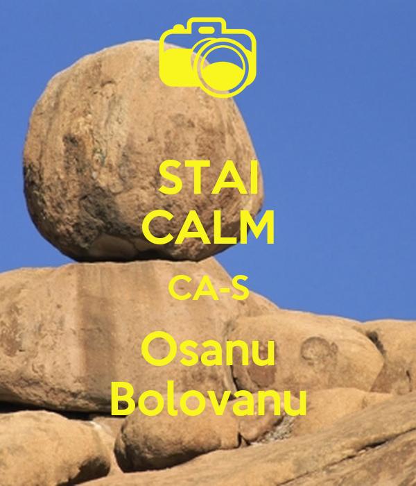 STAI CALM CA-S Osanu Bolovanu