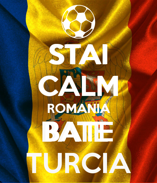 STAI CALM ROMANIA BATE