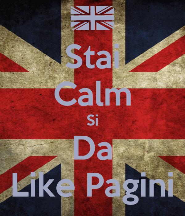 Stai Calm Si Da Like Pagini