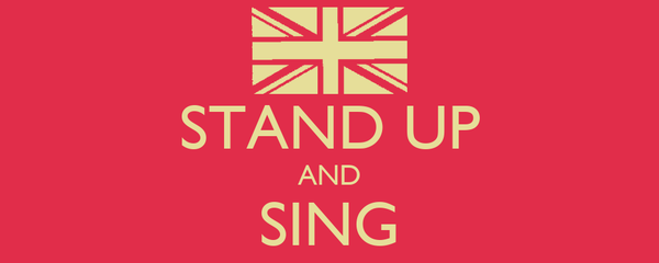 STAND UP AND SING