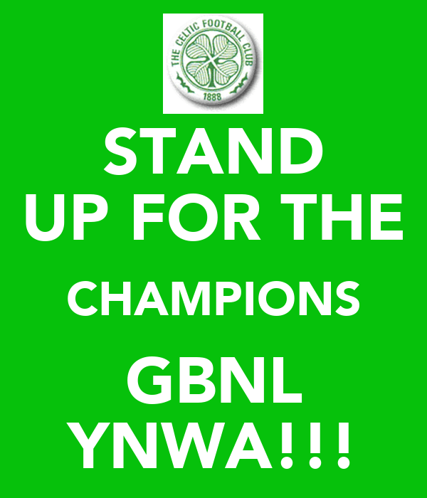 STAND UP FOR THE CHAMPIONS GBNL YNWA!!!