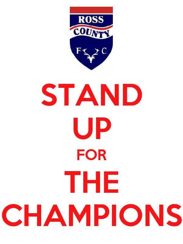 STAND UP FOR THE CHAMPIONS