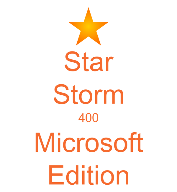 Star Storm 400 Microsoft Edition