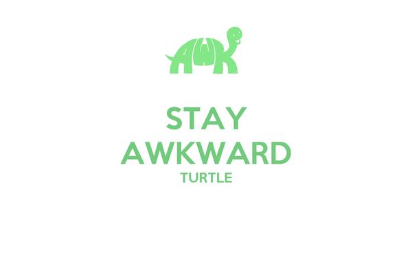 STAY AWKWARD TURTLE