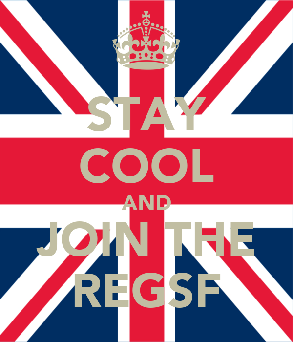 STAY COOL AND JOIN THE REGSF
