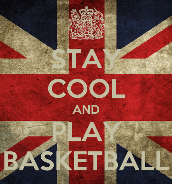 STAY COOL AND PLAY BASKETBALL
