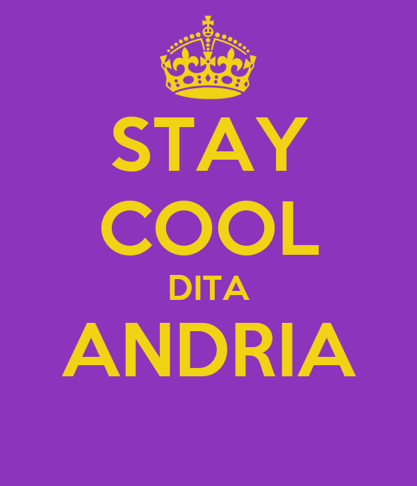 STAY COOL DITA ANDRIA