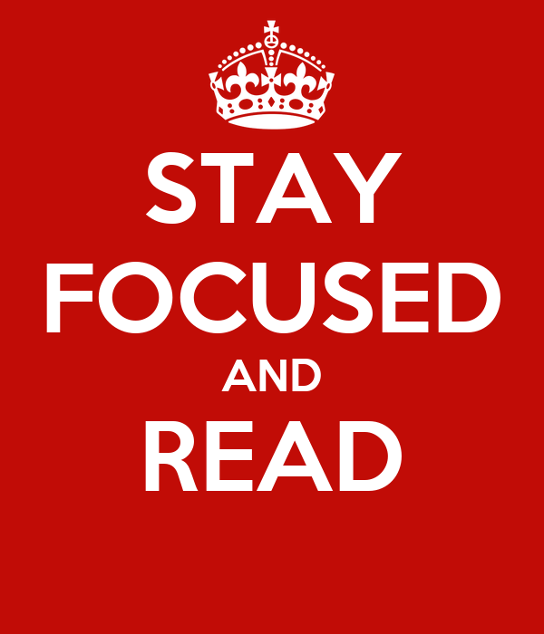how to stay focused on reading
