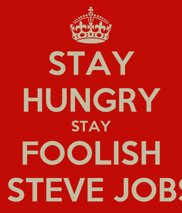 stay hungry stay foolish steve jobs poster adidas