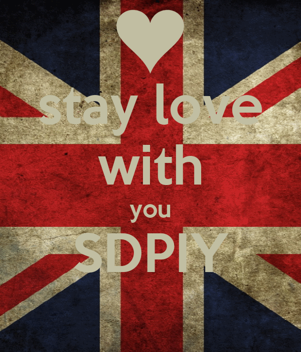 stay love with you SDPIY