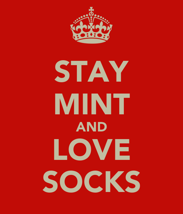 STAY MINT AND LOVE SOCKS
