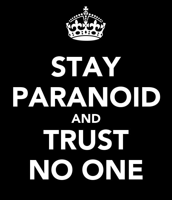 Bilderesultat for paranoid