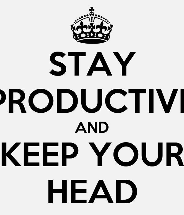 how to stay productive on a 4 to 6