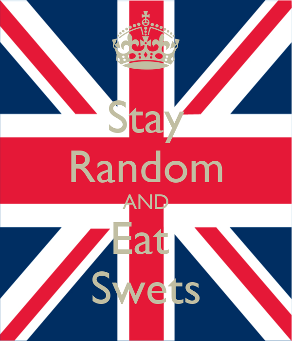 Stay Random AND Eat  Swets