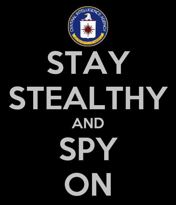 STAY STEALTHY AND SPY ON