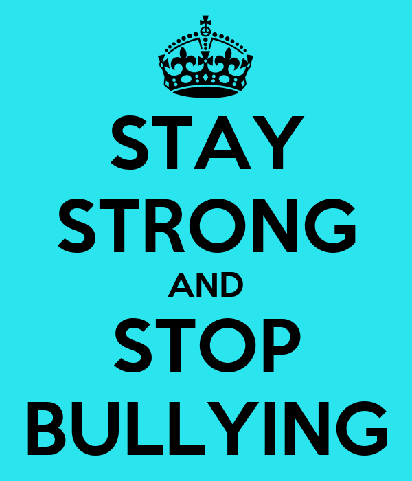 Resultado de imagen de stop bullying