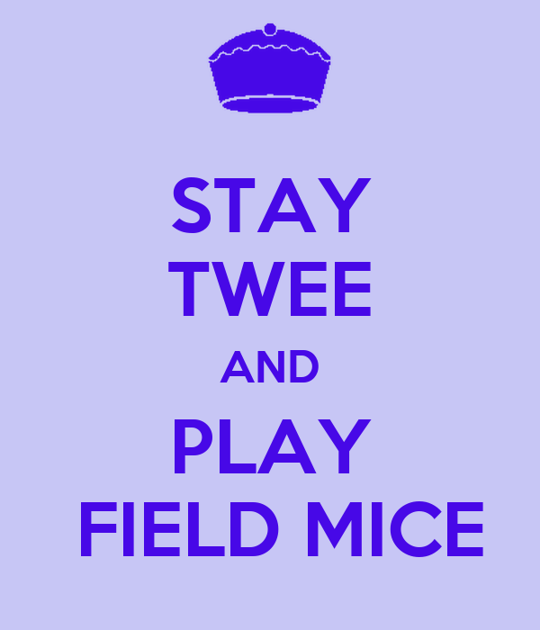 STAY TWEE AND PLAY  FIELD MICE