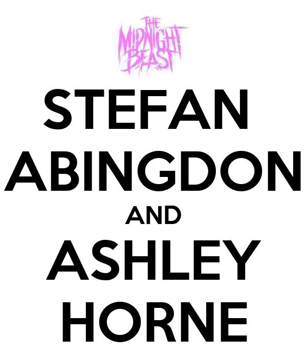 STEFAN  ABINGDON AND ASHLEY HORNE