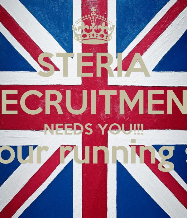 STERIA RECRUITMENT NEEDS YOU!!! (and your running shoes)