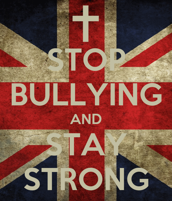 STOP BULLYING AND STAY STRONG