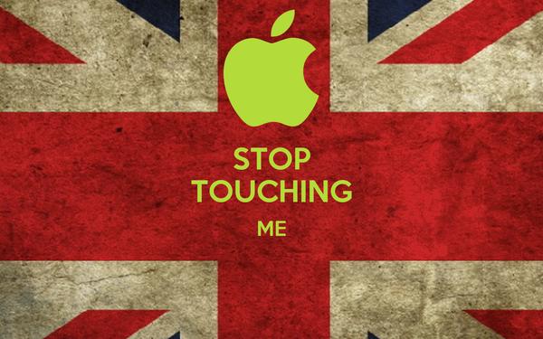 STOP TOUCHING ME