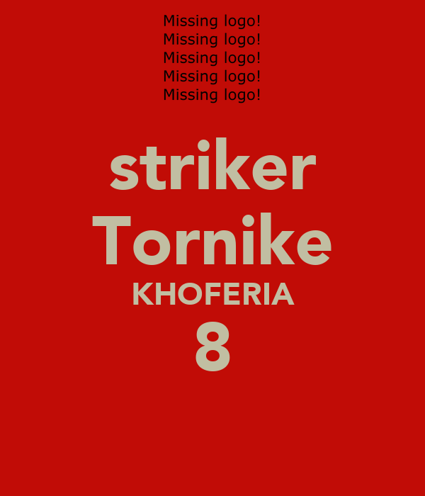 striker Tornike KHOFERIA 8
