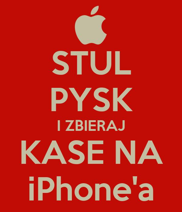 STUL PYSK I ZBIERAJ KASE NA iPhone'a