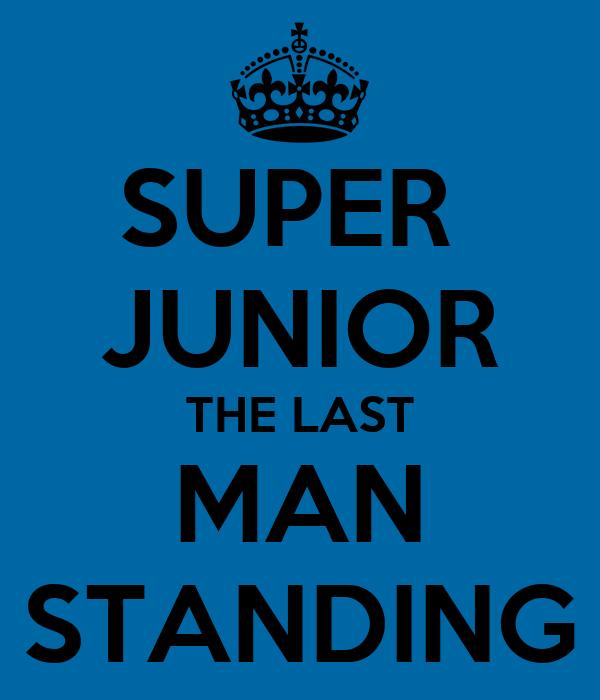 SUPER  JUNIOR THE LAST MAN STANDING