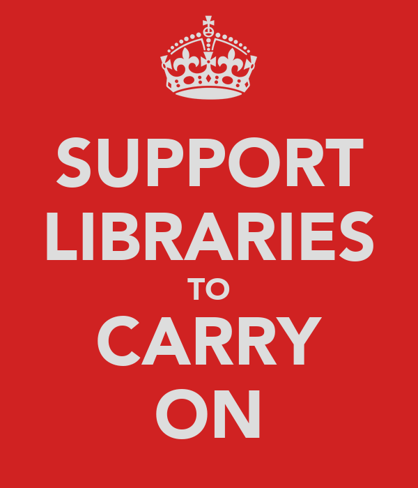 SUPPORT LIBRARIES TO CARRY ON
