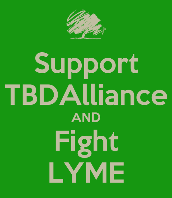 Support TBDAlliance AND Fight LYME
