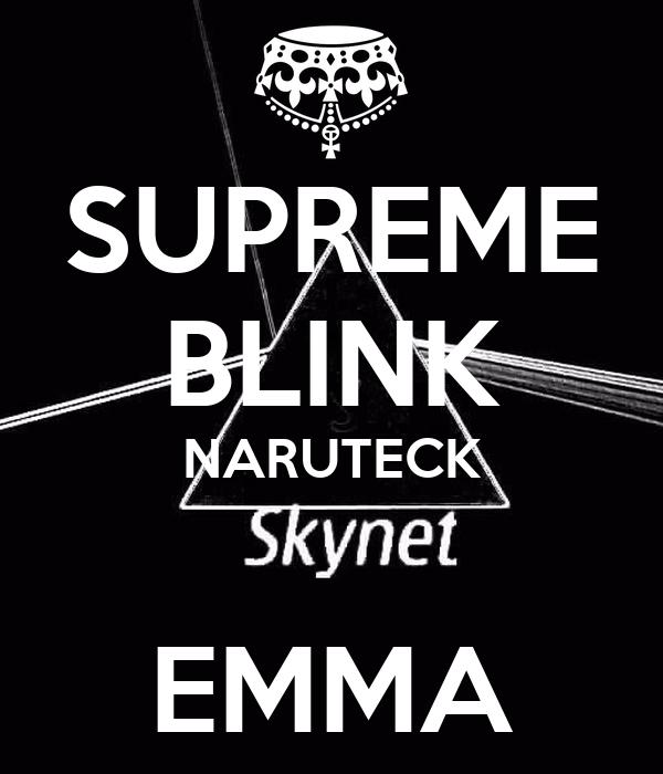 SUPREME BLINK NARUTECK  EMMA