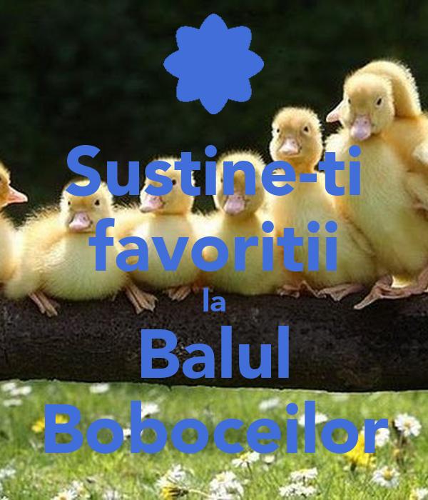 Sustine-ti favoritii la Balul Boboceilor