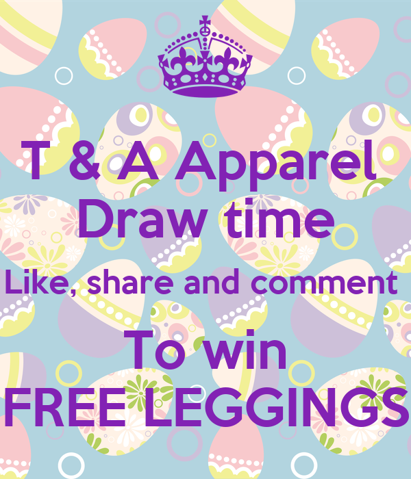 T A Apparel Draw Time Like Share And Comment To Win