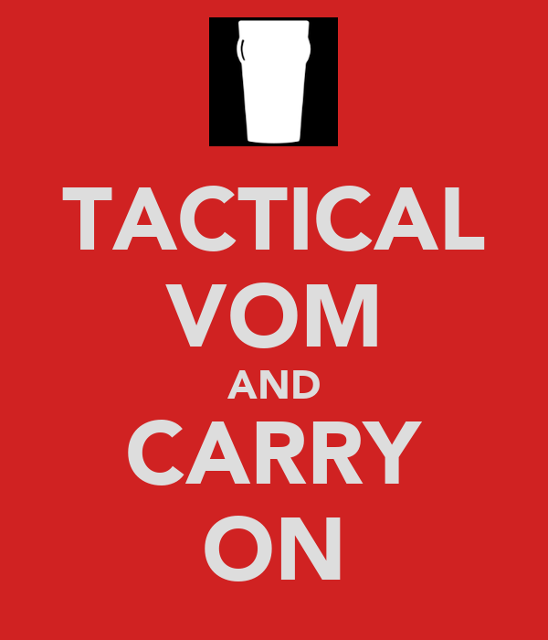 TACTICAL VOM AND CARRY ON