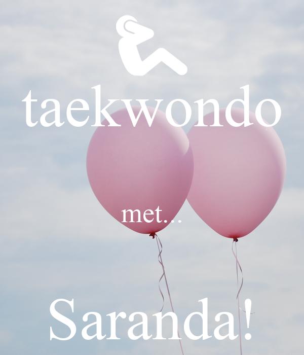 taekwondo  met...  Saranda!