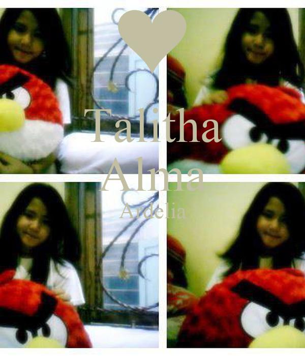 Talitha Alma Ardelia