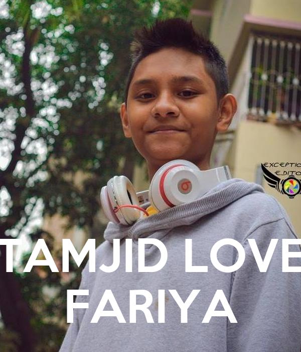 TAMJID LOVE FARIYA