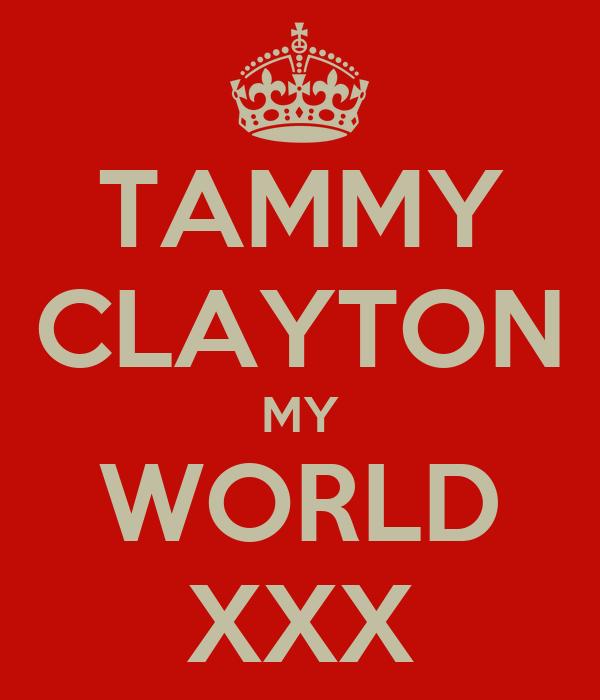 TAMMY CLAYTON MY WORLD XXX