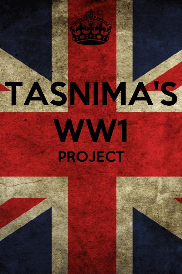 TASNIMA'S WW1 PROJECT