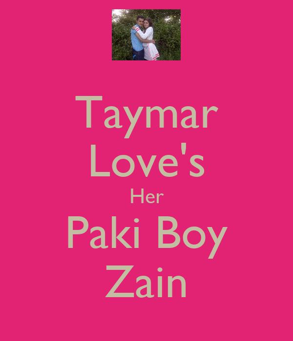 Taymar Love's Her Paki Boy Zain
